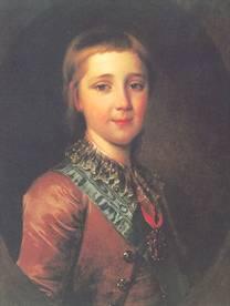 Д.Г. Левицкий. Портрет великого князя Александра Павловича в детстве